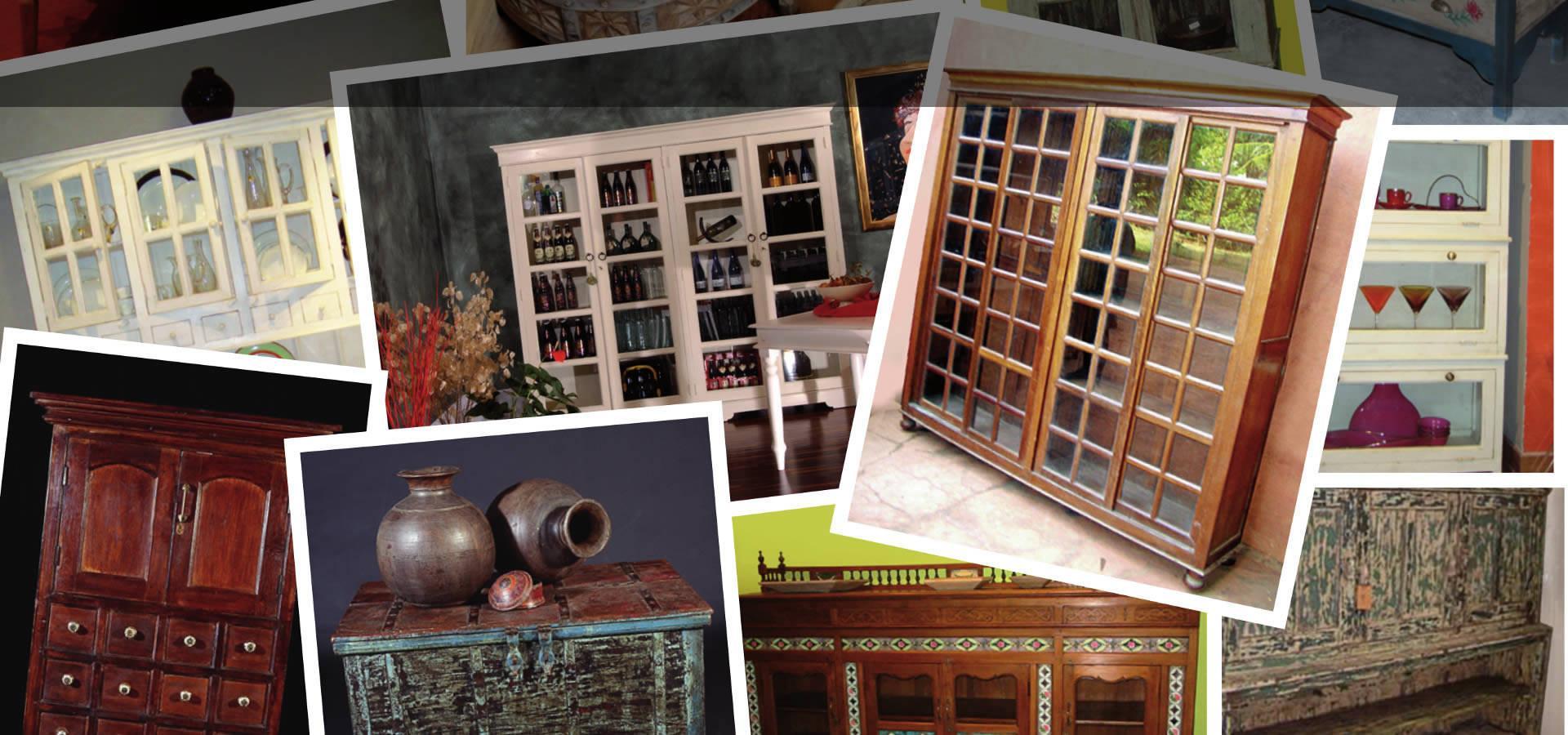 mobili coloniali arredamento shabby chic|etnico|on-line - orissa - Arredamento Shabby Chic Milano