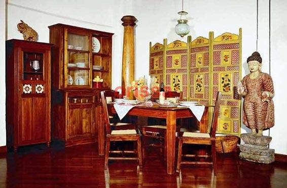 Arredamento coloniale shabby chic ambientazioni spazi for Arredamento etnico milano