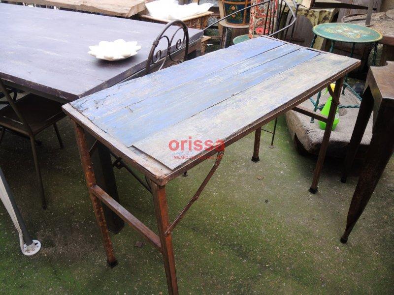 Arredi tavoli sedie pub bar taverne ristoranti bed and for Tavolo ferro e legno