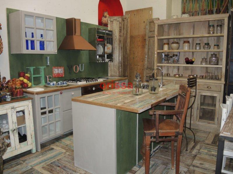 Cucine in legno massello cucine su misura cucine country for Piani di casa in stile country texas