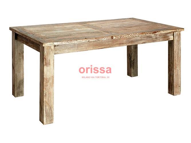 Mobili legno riciclato legno di demolizione mobili - Tavolo legno riciclato ...