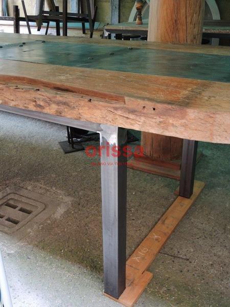 Tavoli e arredamento in stile industriale orissa milano for Arredamento tavoli