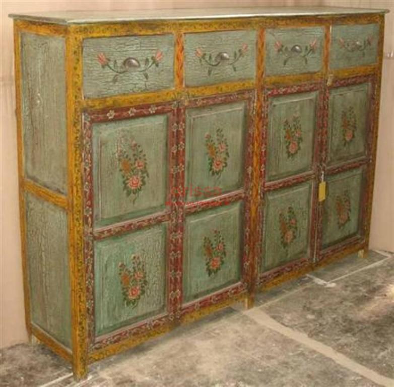 Credenza decorata or011 orissa milano for Mobili seconda mano milano