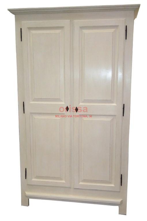 armadio in legno bianco decapto | MS069 | ORISSA Milano