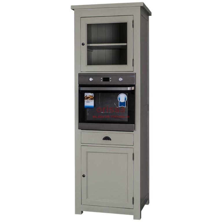 Colonna forno legno massello ms512 orissa milano - Forno per cucina componibile ...