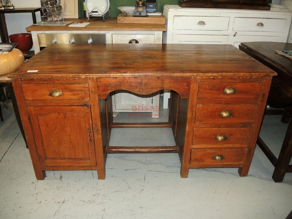 Trendy scrivania inglese coloniale with scrivania etnica - Cerco gratis mobili ...