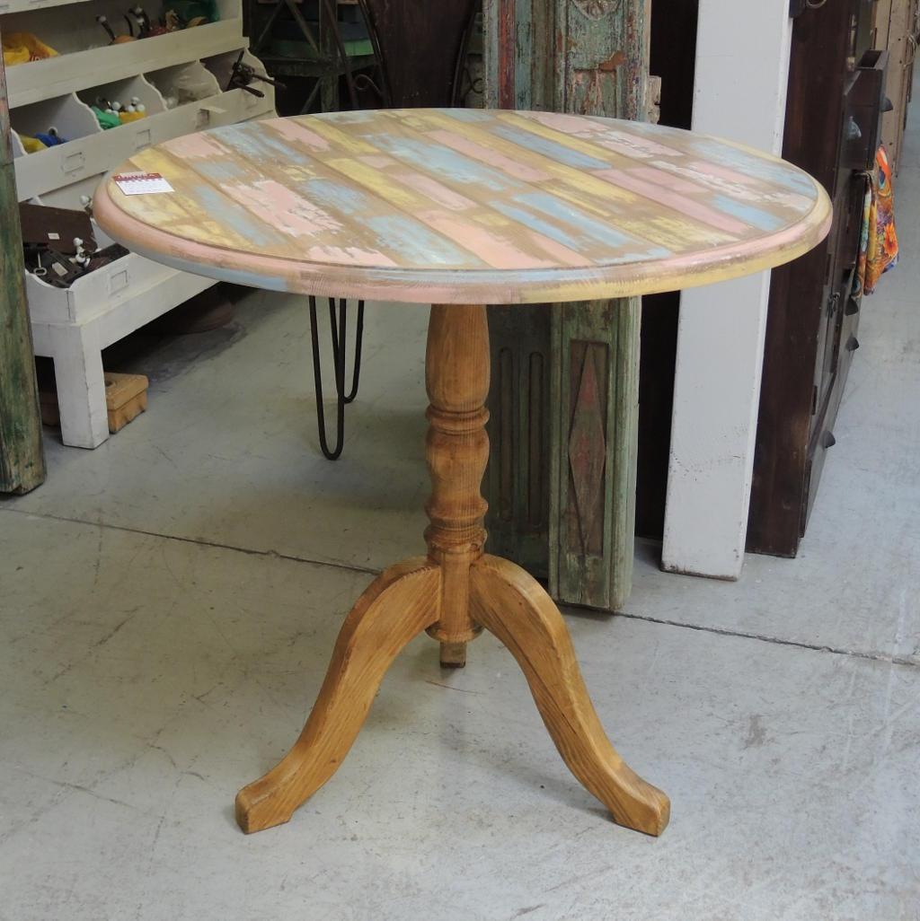 Molto Tavolino bistrot legno massello | CX020 | ORISSA Milano VB19