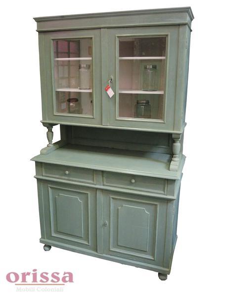 Credenza in legno colore verde | CX030 | ORISSA Milano