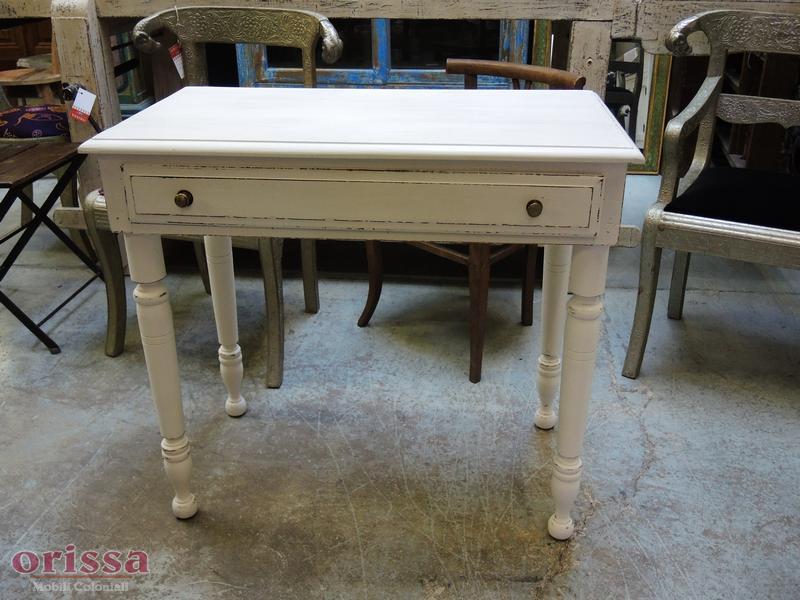 Piccola scrivania shabby cx038 orissa milano for Scrivania shabby