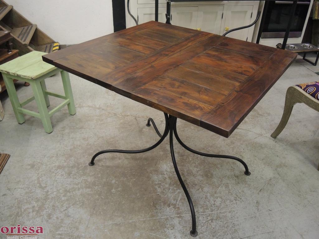 Tavolo legno allungabile 160/260cm CX047 - Orissa Milano