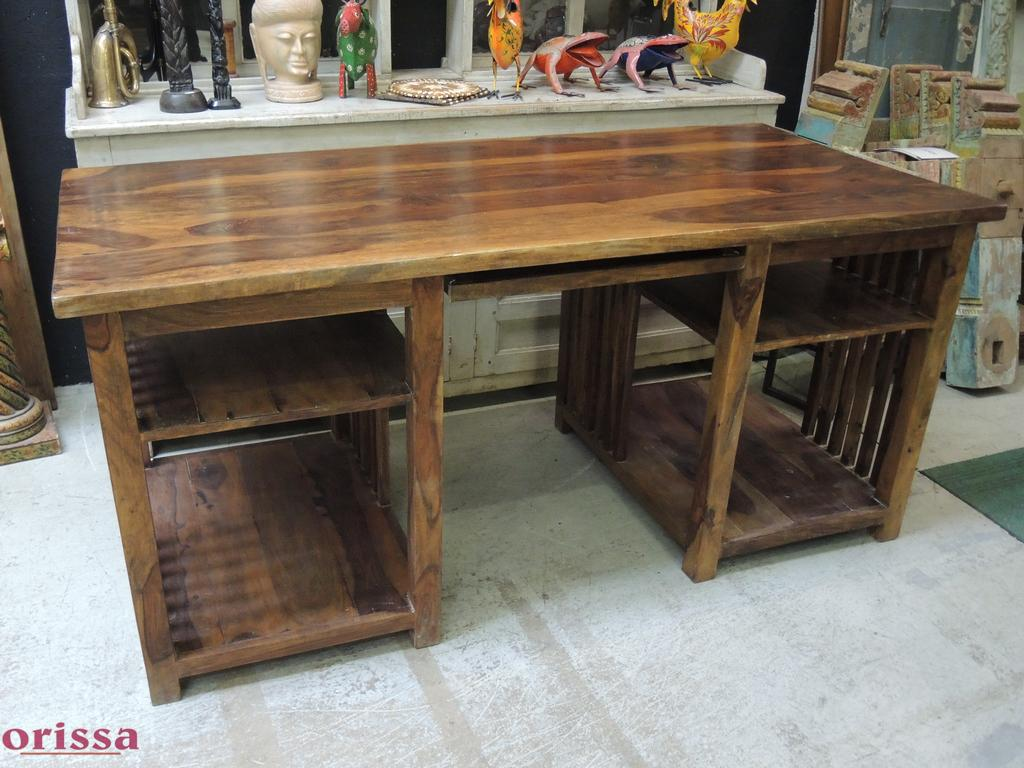 Emejing scrivania legno massello pictures for Ufficio stile artigiano