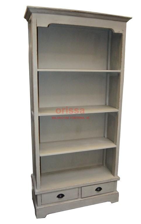 Libreria con cassetti colore grigio   D0902   ORISSA Milano