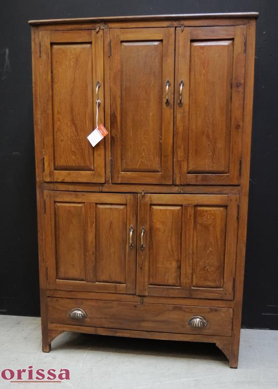 Credenza armadio 5 ante legno di teak | L2L25 | ORISSA Milano