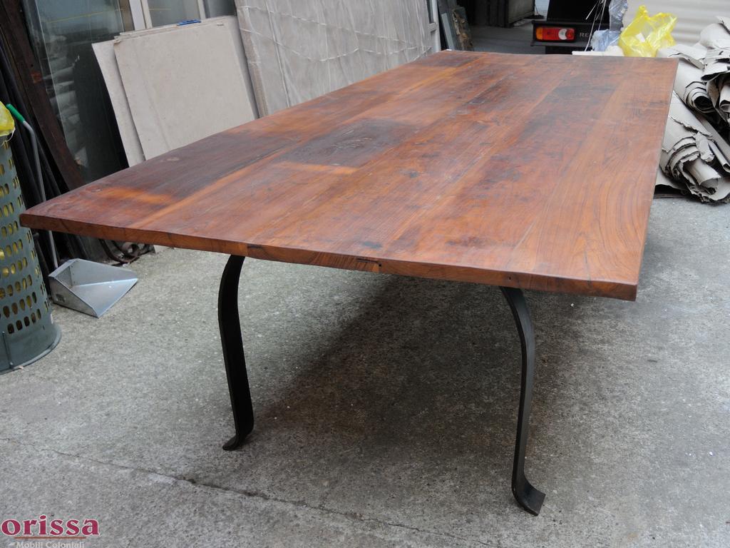 Tavolo legno massello 300cm | L2P5B | ORISSA Milano