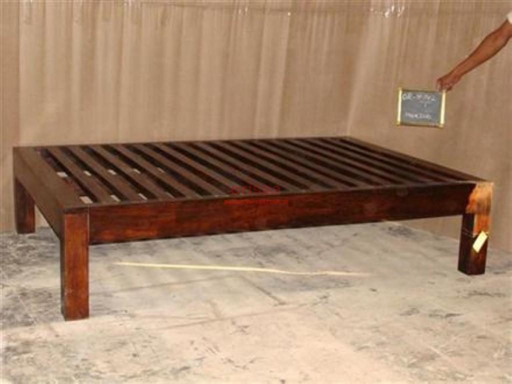 Letto singolo e matrimoniale in legno massello or141 - Letto singolo in legno massello ...