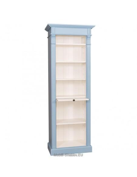 Libreria provenzale colorata 70cm