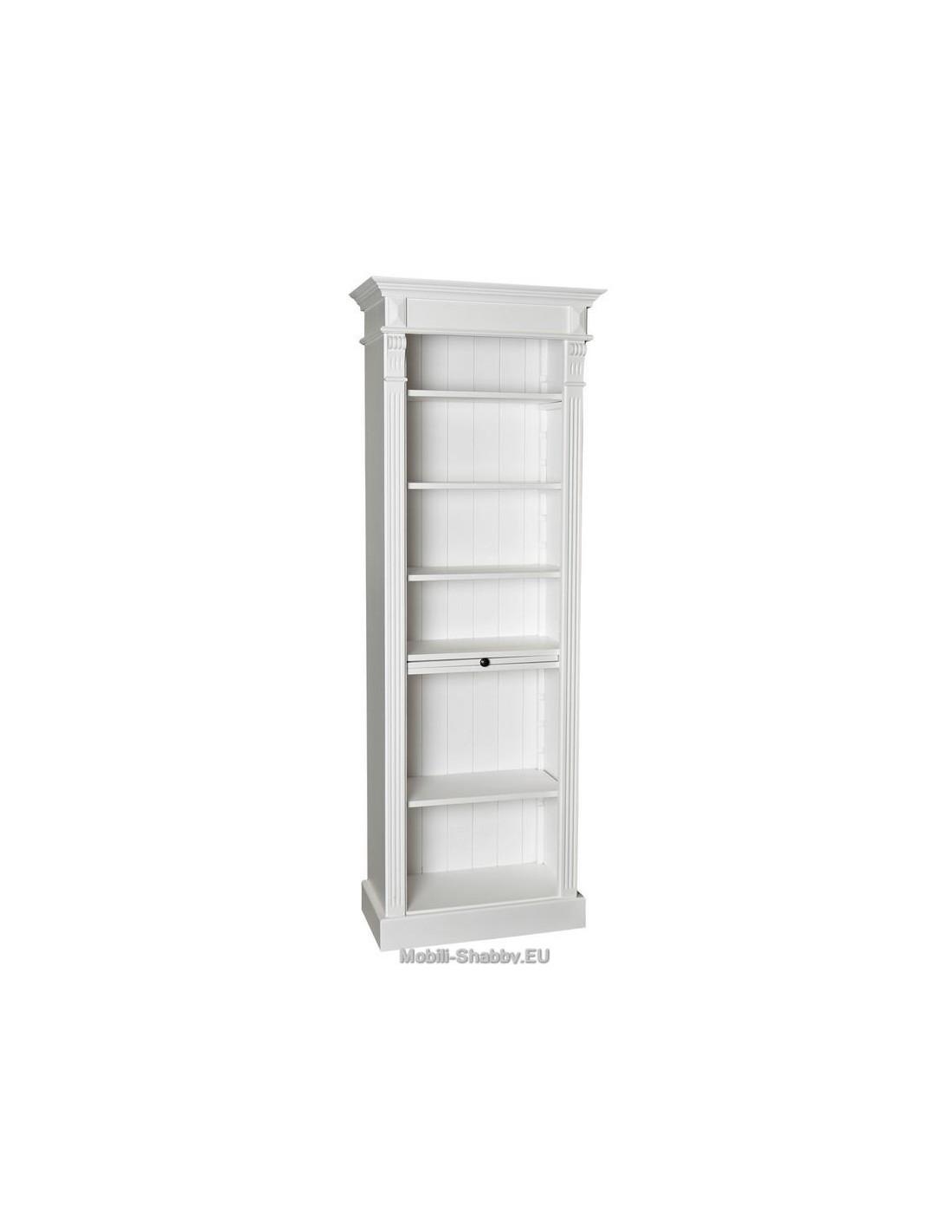 libreria aperta provenzale colorata ms161 mobili shabby eu by orissa. Black Bedroom Furniture Sets. Home Design Ideas