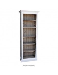 Libreria aperta colorata 78cm