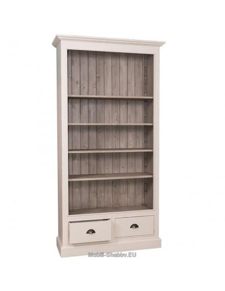 Libreria aperta cassetti 109cm
