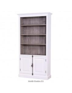 Libreria country con antine 109cm