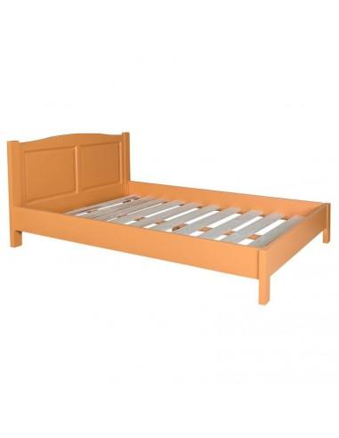 Letto francese in legno massello colorato stile provenzale ms483 140200 orissa milano - Letto sommier 140x200 ...