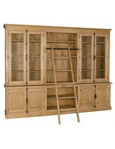 Imagén: Libreria in legno massello 300cm