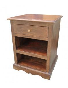 Comodino legno massello