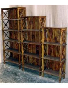 Scaffale in legno massello 4 misure