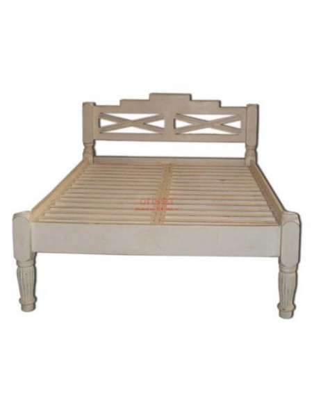 Letto Raffles in legno massello