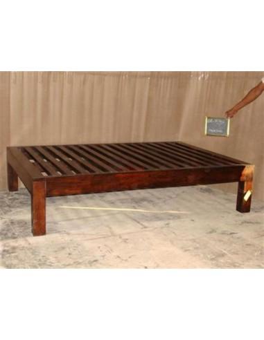 Letto singolo in legno massello OR141A - Orissa Milano