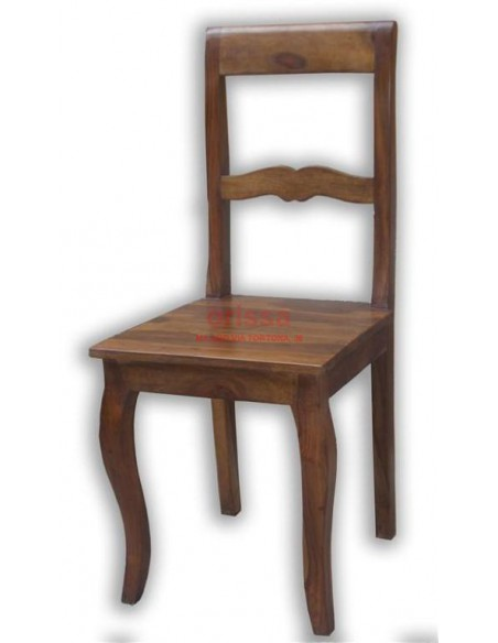 Sedia in legno massello