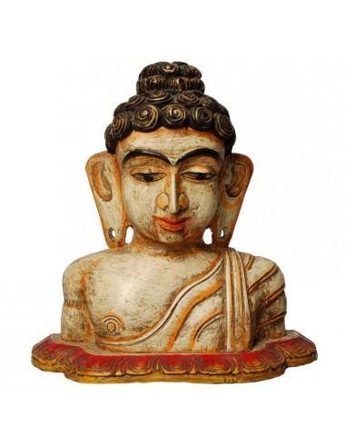 Statua Buddha in Legno