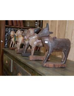Imagén: Mucche in legno