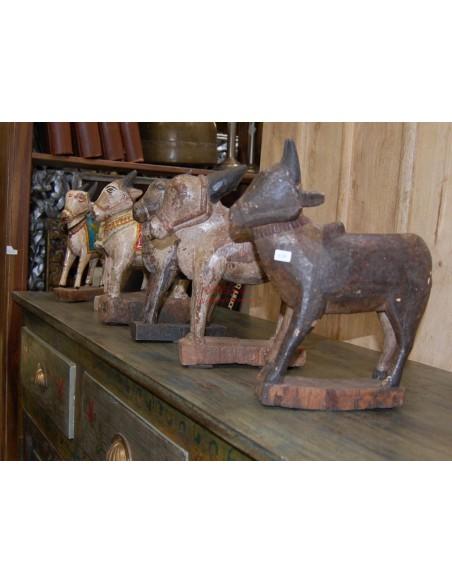 Mucche in legno