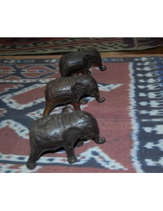 Elefantino in metallo