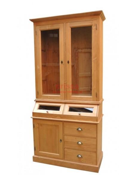 Credenza in legno massello con cassetti