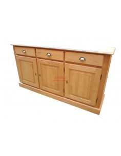 Credenza bassa 3 cassetti
