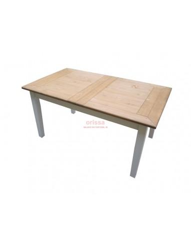 Tavolo allungabile con prolunga a scomparsa oms224 for Tavolo allungabile con sedie a scomparsa