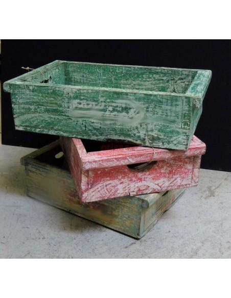 Cassettine legno colorate