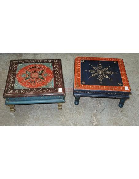 Tavolino Etnico decorato