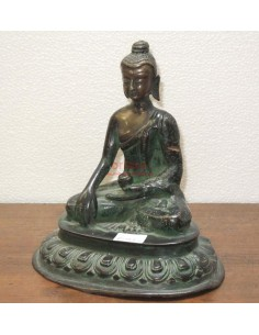 Statua Buddha in lega