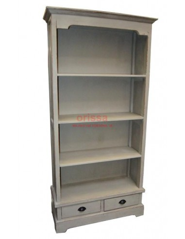 Libreria con cassetti colore grigio D0902 - Orissa Milano