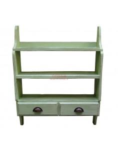 Imagén: Pensile con cassetti color verde