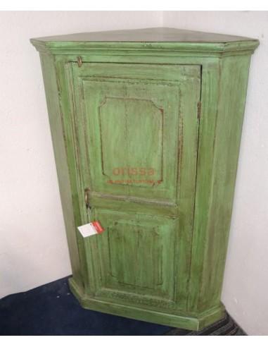 Angoliera legno verde coloniale F5147 - Orissa Milano