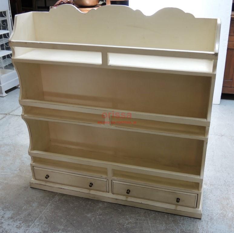 Piattaia legno massello color crema F6183 - Orissa Milano