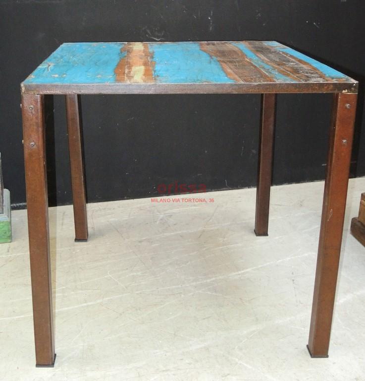 Tavolo ferro e assi colorate G1008 - Orissa Milano