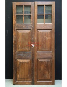 Ante coloniali in legno di teak