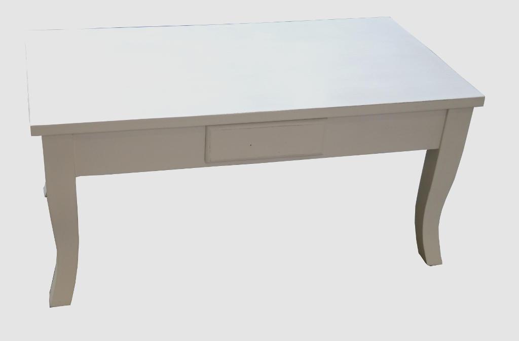 Tavolo Bianco Decapato.Tavolo Salotto Bianco Decapato