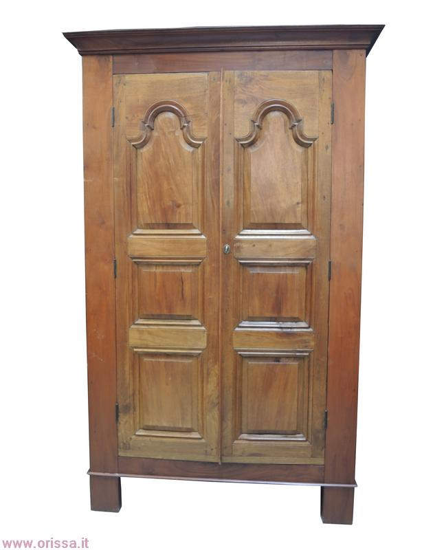 Armadio smontabile a due ante legno massello CX021 - Orissa Milano
