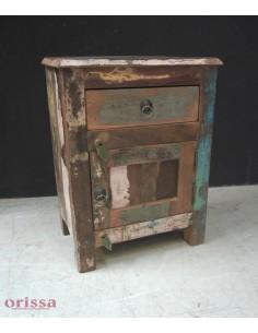 Comodini recycled anta e cassetto